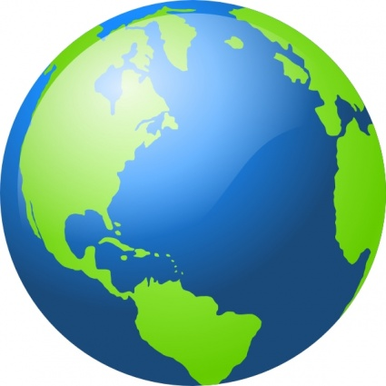 Clipart of the planet earth